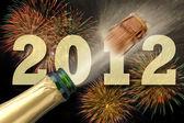 šťastný nový rok 2012 — Stock fotografie