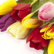 Easter bunch of tulips — Stock Photo