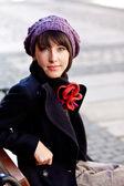 美しい若い女性 — ストック写真