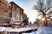 Winter court — Stock Photo
