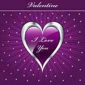 Αγίου Βαλεντίνου αγάπη καρδιά — Διανυσματικό Αρχείο