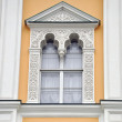 Stock Photo: Facade of age-old house