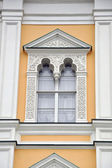 Facade of age-old house — Stock Photo