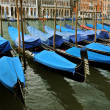 Gondolas on Grand Canal, Venice, Italy — Stock Photo