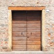 Foto de Stock  : Door in wall