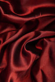 Red smooth textil — Stock Photo