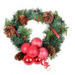 Christmas wreath, — Stock Photo