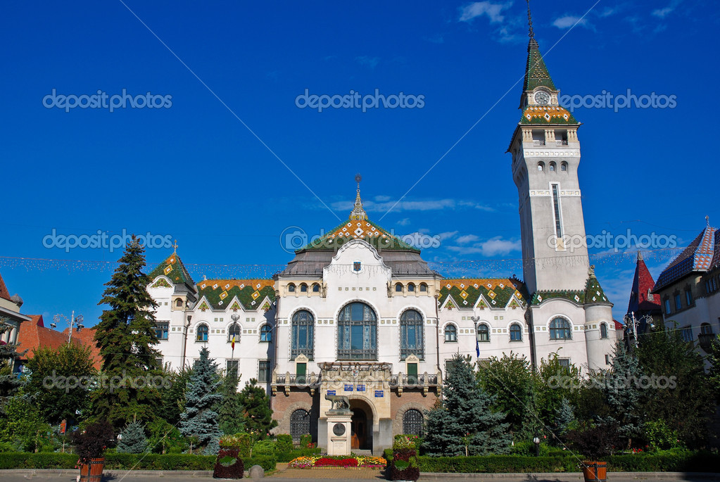 Targu Mures - Administrative Palace — Stock Photo #4160540
