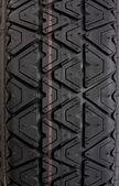 Tyre tread tracks close up — Stock Photo
