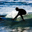 Surfer in action — Stock Photo