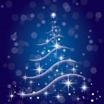 Noel ağacı Vektör formatında — Stok Vektör