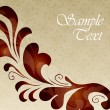 Royalty-Free Stock Imagen vectorial: Elegant vintage cover