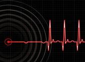 Heart beat — Stock Vector