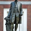 Stock Photo: Statue of George Washington, Independence Hall, Philadelphia, PA