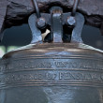 Liberty Bell, Philadelpia. Close View — Stock Photo