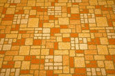 Linoleum tile background from the 1970s. — Stock Photo