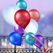 Multicolored balloons - Stock Photo