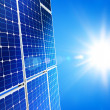 Solar power - Foto Stock