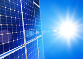 Solar power — Stockfoto