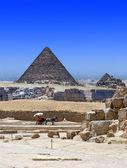 Egyptian demolitions — Stock Photo