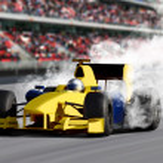 Formula One Speed Car — Stock Photo