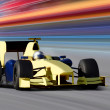 Yellow bolide - Stock Photo