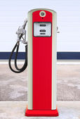Retro filling station — Stock Photo