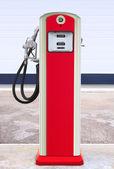 Retro filling station — Stock Photo