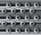 Military metal texture — Stock Photo