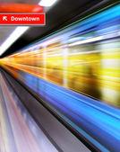 Metro — Stock Photo