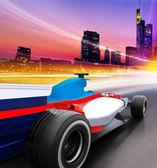 Speed in city — Stock Photo