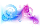 Синий туман — Cтоковый вектор
