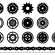 Cogwheel — Stock Vector