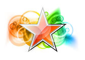 Red star — Stock Vector