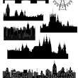 Royalty-Free Stock Vector Image: Architectural monuments - vector