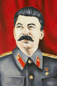 Portrait of Stalin — Stock Photo