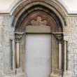Romanesque arch - Stock Photo