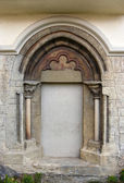 Romanesque arch — Stock Photo