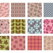 Backgrounds pattern — Stok Vektör