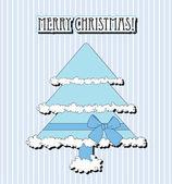Christmas vector card — Stock Vector