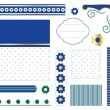 Stok Vektör: Digital vector scrapbook
