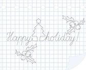 Happy holiday — Stock Vector