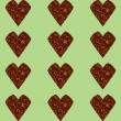 Hearts seamless pattern — Stock Vector #4544073