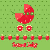 Sweet baby — Stock Vector