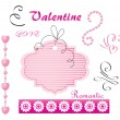Royalty-Free Stock Vector Image: Digital set for Valentine\'s Day