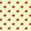 Stockvektor : Floral wallpaper pattern
