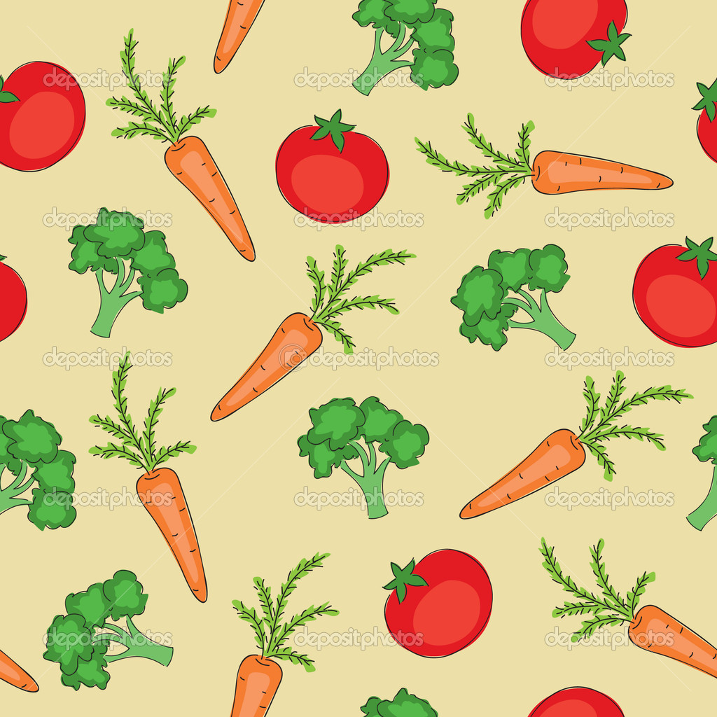 Vegetable pattern - photo#26
