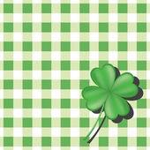 Green checkered background — Stock Vector