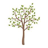 Baharın ağaç — Stok Vektör