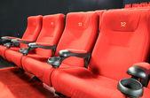 空の映画館の座席 — ストック写真